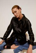 MANGO - Jacket anais - black