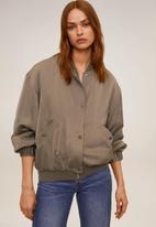 MANGO - Jacket Thursday - brown