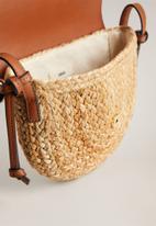 MANGO - Capela bag - brown