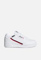 adidas Originals - Continental 80 c - white/scarlet/navy