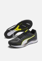 PUMA - Speed Sutamina - puma black-castlerock-yellow
