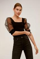 MANGO - Viena sweater - black