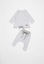 Sticky Fudge - Baby classic trackpants - grey