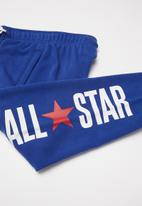 Converse - Converse vintage ft all start jogger - blue