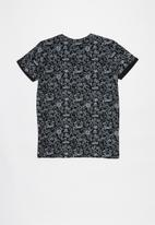 name it - Tolga short sleeve top - black