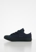 SOVIET - K viper 1 vulcanized low cut canvas lace up - navy