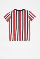 GUESS - Boys printed short sleeve T-shirt -  multi