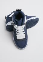 POP CANDY - Ttk slash boot 3 - navy & white