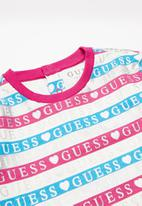 GUESS - French Terry dress - multi