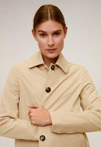 MANGO - Trench coat double - beige