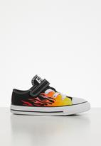 Converse - Chuck Taylor 1v archive flame ox - black/enamel red/fresh yellow
