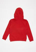 GUESS - Hooded active top - red