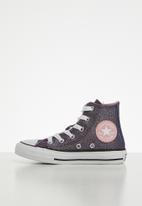 Converse - Chuck Taylor All Star space star hi - coastal pink/silver/white