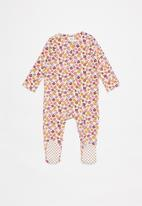 Cotton On - 3 Pack long sleeve zip rompers - multi