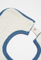 Cotton On - 2 Pack everyday bib - black & blue