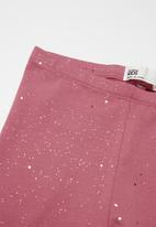 Cotton On - Huggie tights multipack - black & pink