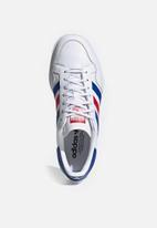 adidas Originals - Team court - ftwr white/team royal blue/scarlet