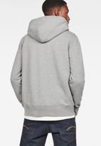 G-Star RAW - Max core hdd zip thru sw long sleeve - grey