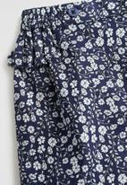 MANGO - Trousers Mia - navy