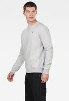 G-Star RAW - Premium core r sw long sleeve - grey