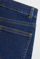 MANGO - Jeans cargo - blue