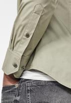 G-Star RAW - Dressed super slim fit shirt - stone