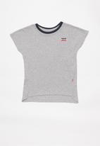 Levi's® - Levi cropped dolman top - grey