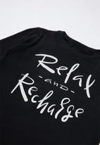 Rebel Republic - Teen boys pj set - black