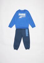 PUMA - Minicats rebel crew jogger palace - blue