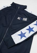 Converse - Converse boys All Star tricot track jacket - navy & white