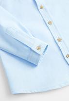 MANGO - Shirt oxford  - light blue