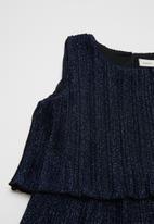name it - Silja sleeveless dress - navy