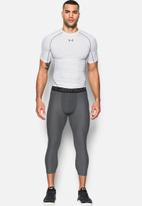Under Armour - HeatGear® armour leggings 2,0 - carbon heather & black