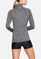 Under Armour - Tech half zip twist top - black & grey