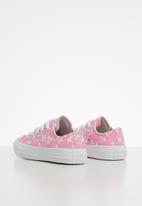 Converse - Chuck Taylor All Star floral ox - peony pink/topaz gold/white