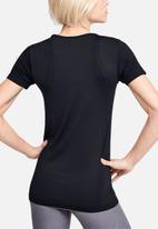 Under Armour - Seamless short sleeve top - black