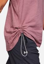 Under Armour - Charged cotton adjustable top - mauve