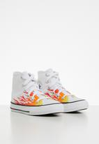 Converse - Chuck taylor all star archive flame - white
