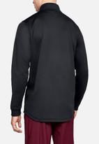 Under Armour - Armour fleece 1/2 zip - black