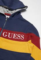 GUESS - Hooded active top - navy