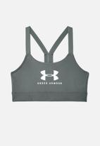 Under Armour - Armour mid sports bra - grey