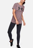 Under Armour - Graphic sportstyle classic crew - hushed pink