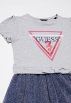 GUESS - Knot dress - navy & grey