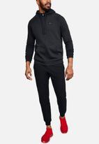 Under Armour - Rival fleece fz hoodie - black