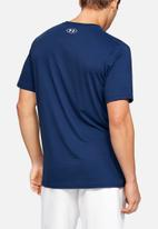 Under Armour - Under Armour fast left chest short sleeve tee - american blue