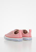 Converse - Chuck taylor all star teen slip canvas color slip - pink