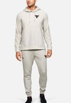 Under Armour - Project rock terry hoodie - summit white