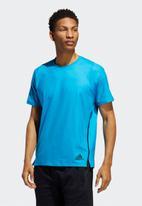 adidas Performance - Primeblue short sleeve tee - blue