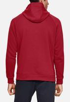 Under Armour - Rival fleece sportstyle logo hoodie - cordova