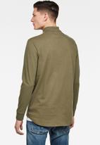 G-Star RAW - Lash long sleeve polo - shamrock